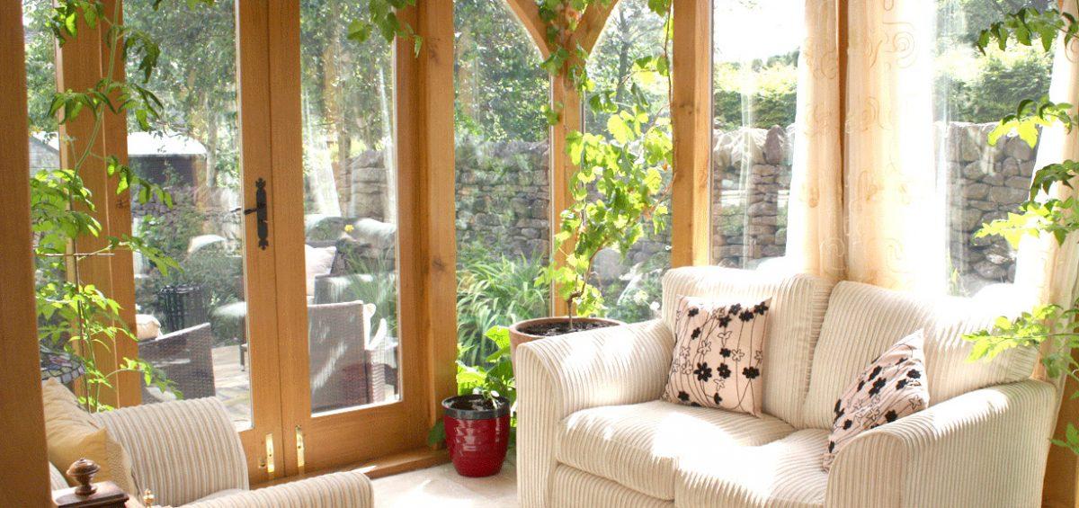 giardino inverno legno artigianale