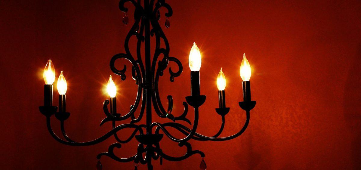 L'arredamento noir-gotico