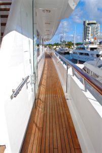 teak yacht