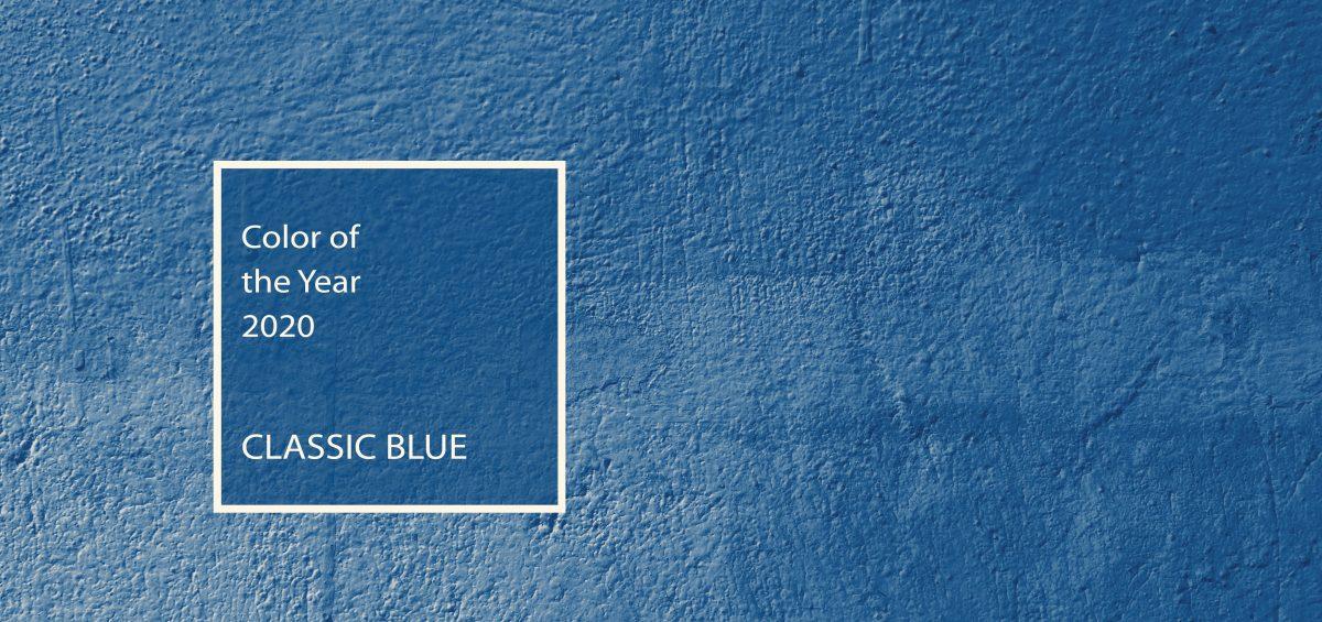 Nel blu dipinto di Classic Blue
